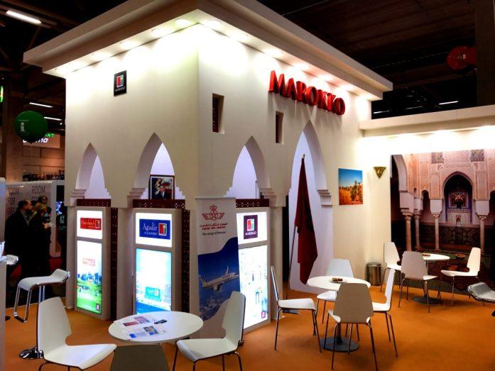 Marokon koju sai meiltä parhaimmat pisteet presentaatiosta, sillä sen kokoamiseen oli selvästi käytetty aikaa ja vaivaa!