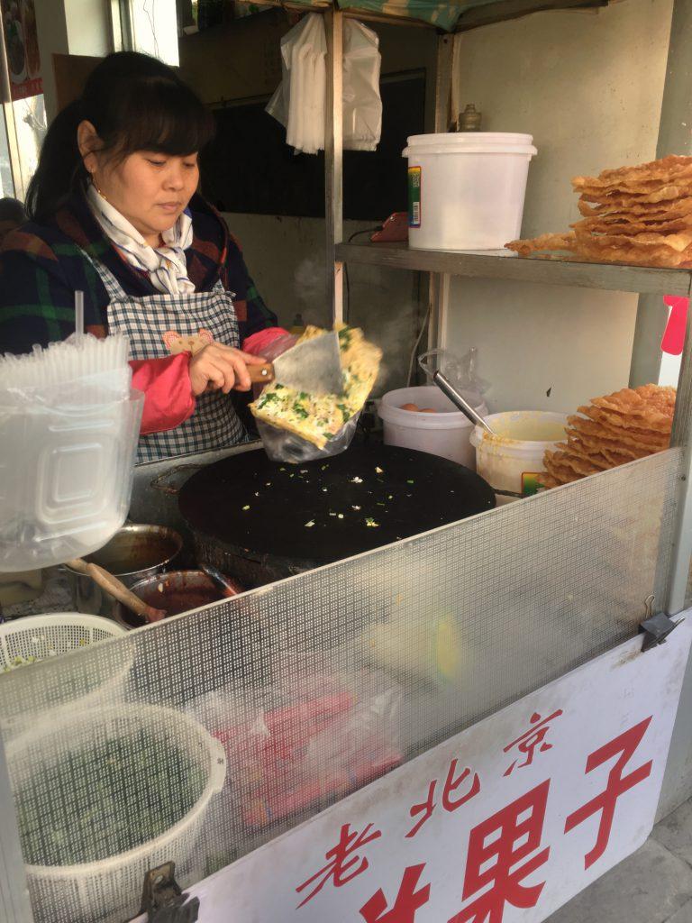 Tortilla kiinalaiseen tapaan.