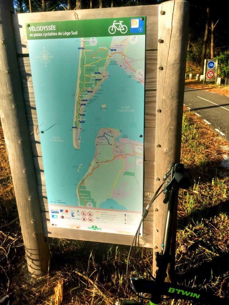 Muutaman kilometrin mekin taitoimme Velodysséen reittiä!