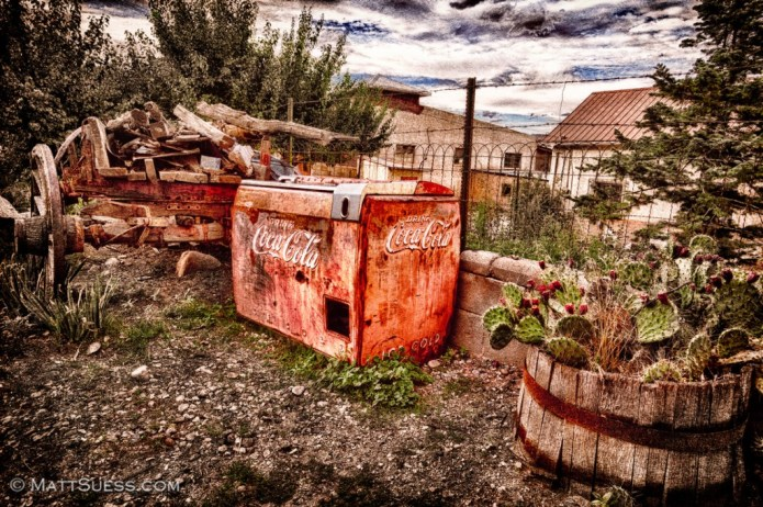 """Vintage Coca Cola"" - New Mexico. Click on photo to view it larger and to purchase prints."