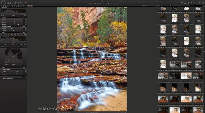 This photograph from Zion National Park photographed last fall will soon be released and available for purchase.