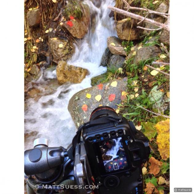 """Photographing """"Fall Serenity"""""""