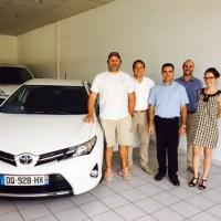 Actu maurelauto - Mauricio Reggiardo roule en Toyota Auris