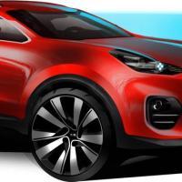 Salon de Francfort 2015 - Images du futur Kia Sportage