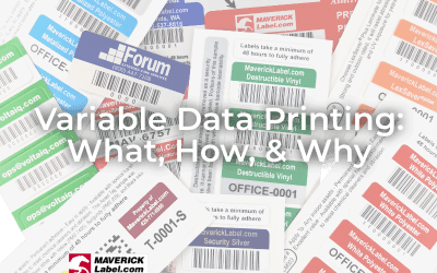 Variable Data Printing - What, How, Why