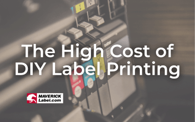 The High Cost of Printing Your Own Labels