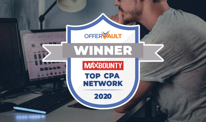 MaxBounty voted Top CPA Network by 3 Industry Surveys