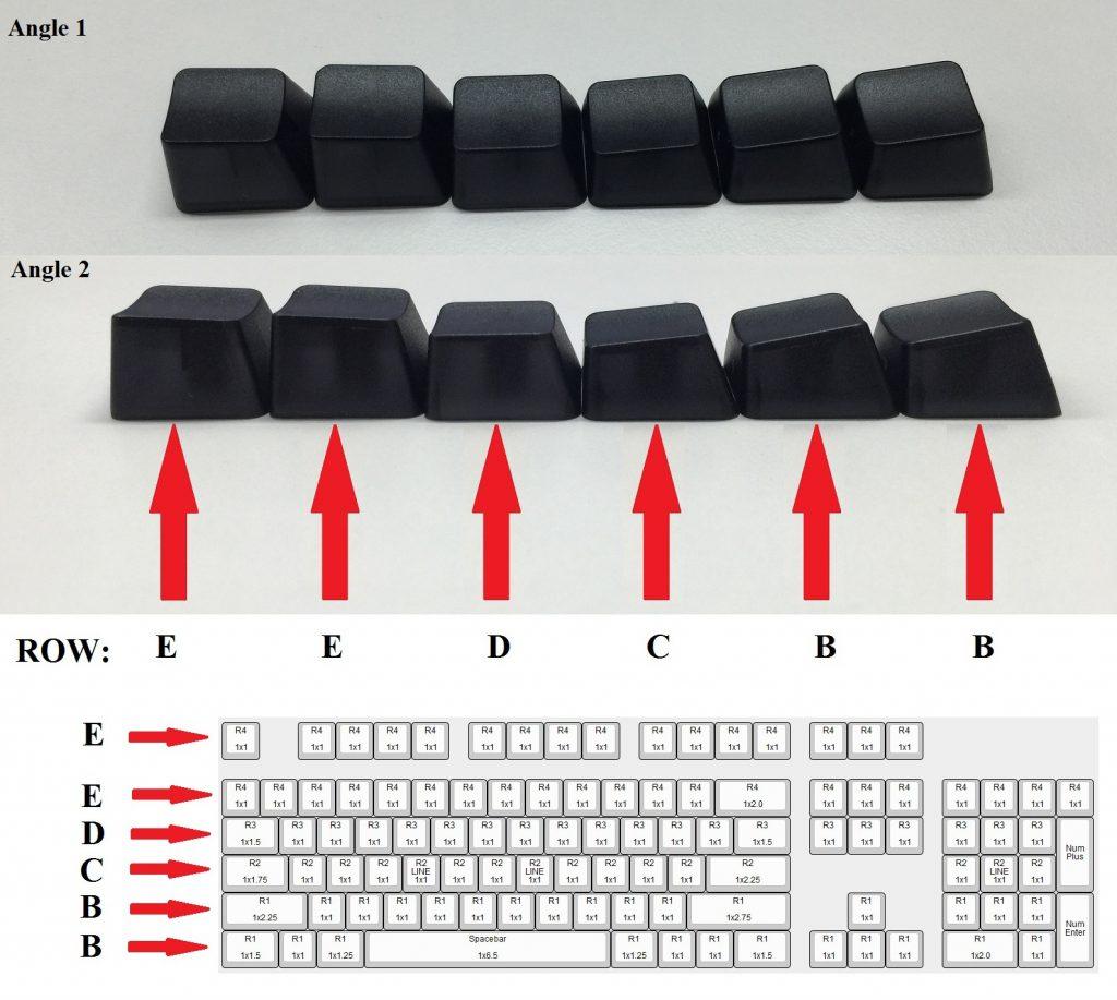 Keycap Profile Amp Size Information Max Keyboards