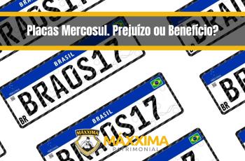 Placas Mercosul. Prejuízo ou Benefício?