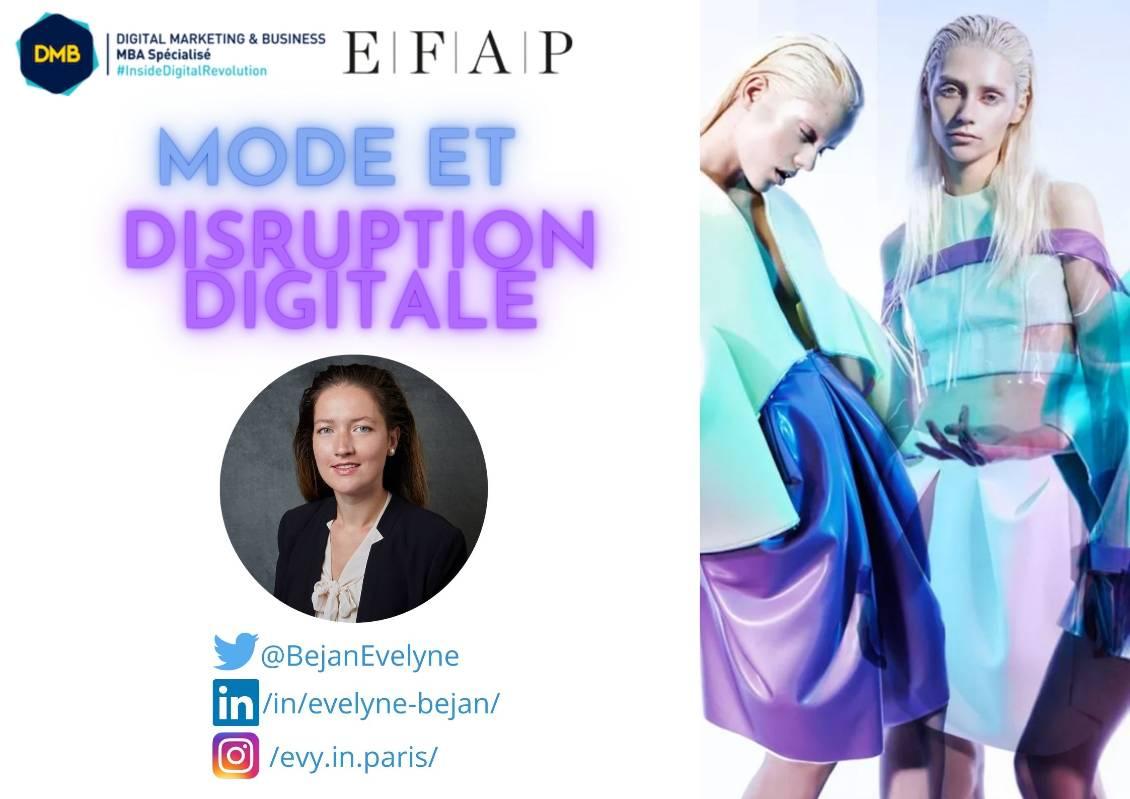 Mode et Disruption Digitale