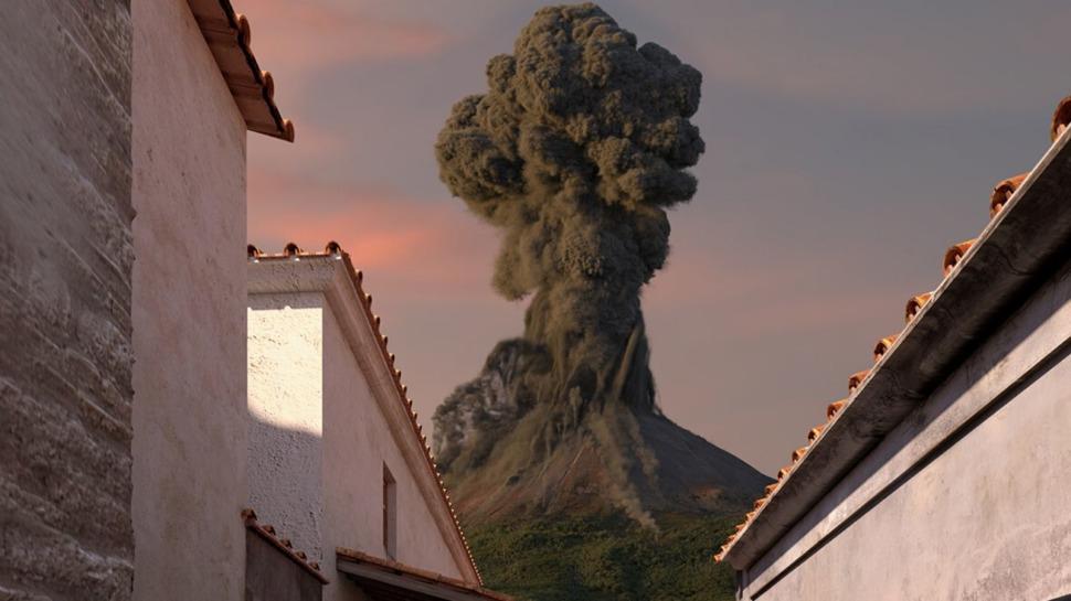 Pompéi, éruption du Vésuve