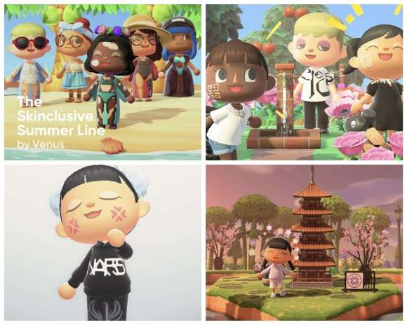 Animal Crossing Beauty Brands collaboration