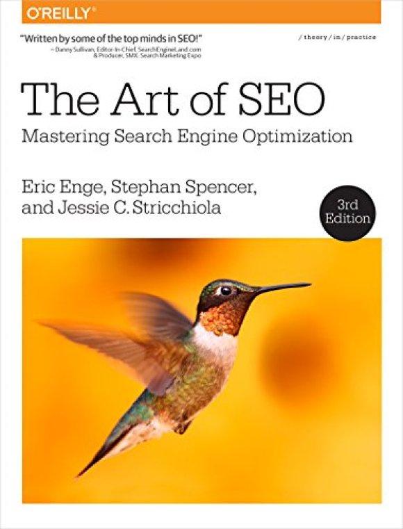 Couverture livre marketing digital Art of SEO