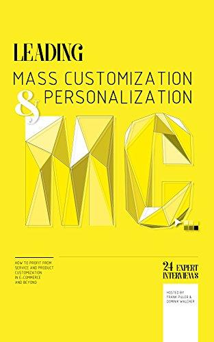 Leading mass customisation couverture