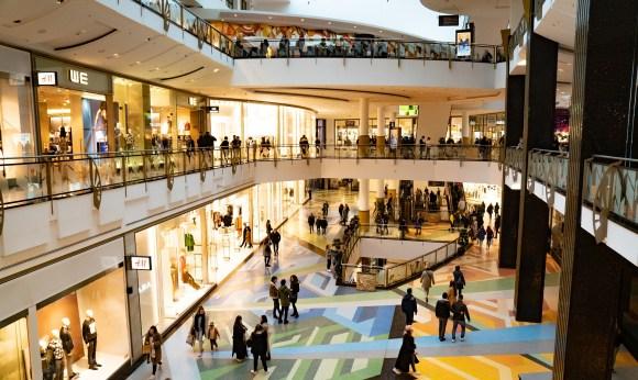 centre commercial, lieu de consommation