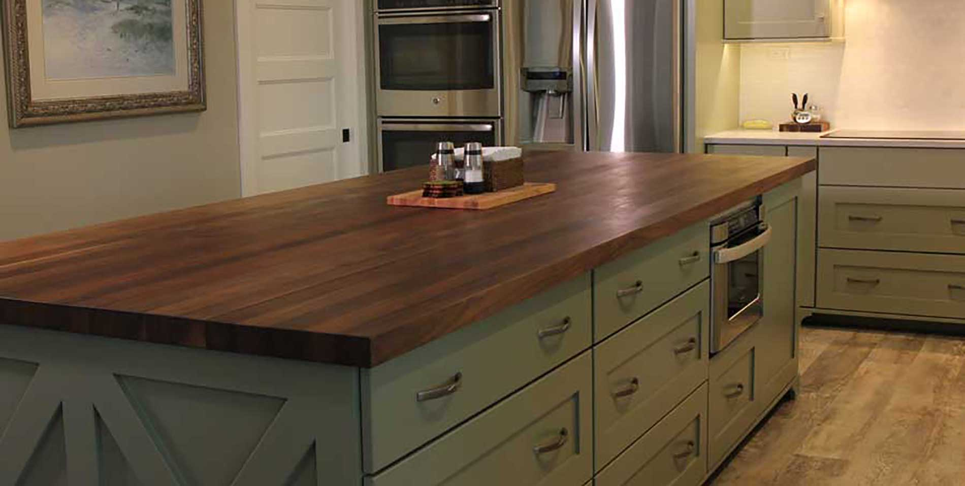 Black Walnut Kitchen Island Mcclure Block Butcher Block And Hardwood Kitchen Counter Tops And Hardwood Kitchen Islands Butcher Block Chopping Blocks And Cutting Boards