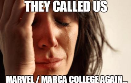 not marvel marca