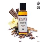 Made in the USA As You Like It Chai Massage Oil