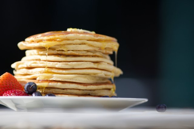 Having pancakes after suffering from painful sex