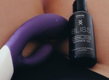 Bliss CBD Intimate Oil for relaxation and lubrication