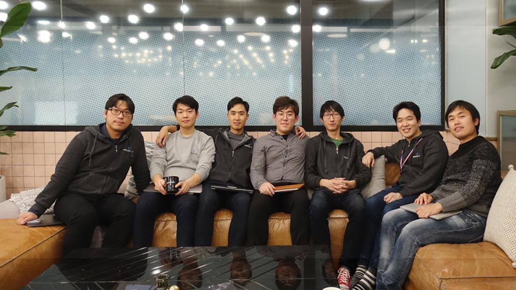 메디블록 개발팀 단체사진