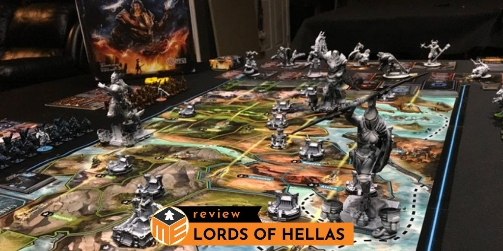 Lords of Hellas: A war board game in the futuristic Greek mythology [Review]