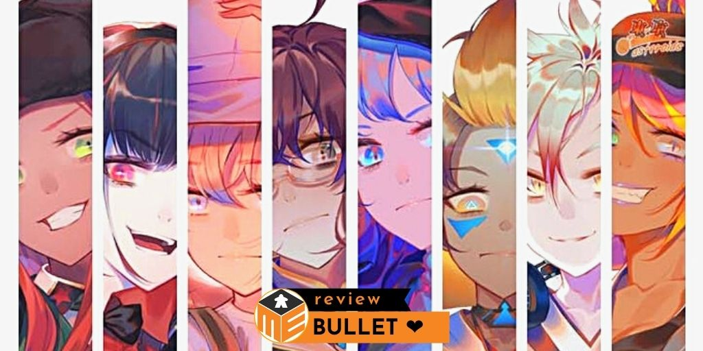 Bullet ❤️:  Shoot-em-up board game with love [Review]