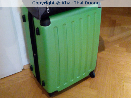 Packe, packe Koffer… ich werde immer schroffer… -.-