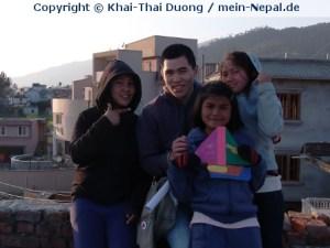 Die Snowland Schule ist der schönste Ort in Nepal.
