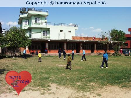 Hilfe für eine Schule für geistig Behinderte in Nepal