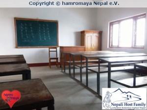 hamromaya Nepal e.V. renoviert eine öffentliche Schule im Dorf Bela.