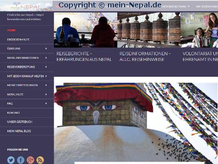 Relaunch von mein-Nepal.de