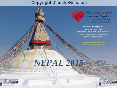 Nepal-Kalender 2015 mitgestalten