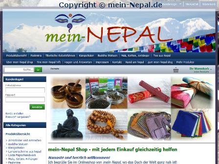 Vom 06.09.2013 bis 30.09.2013 keine Bestellungen bei mein-Nepal.de möglich
