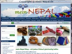 Der mein-Nepal Shop - mit jedem Einkauf helfen ist wieder online.