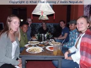 Geheimtipp in Thamel: Das kleine Namao Buddha Restaurant.