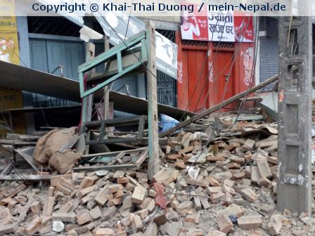 Zweites schweres Erdbeben in Nepal innerhalb von 3 Wochen