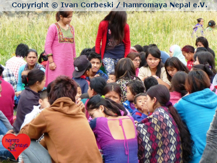 Ein Monat nach dem Erdbeben in Nepal…