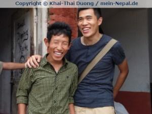 Glücklich in Nepal