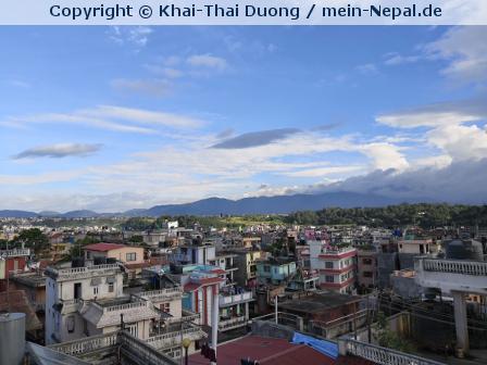 Nepal ist Farbe