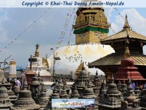 Die Legende von Swayambhu und die Entstehung des Kathmandu-Tals.