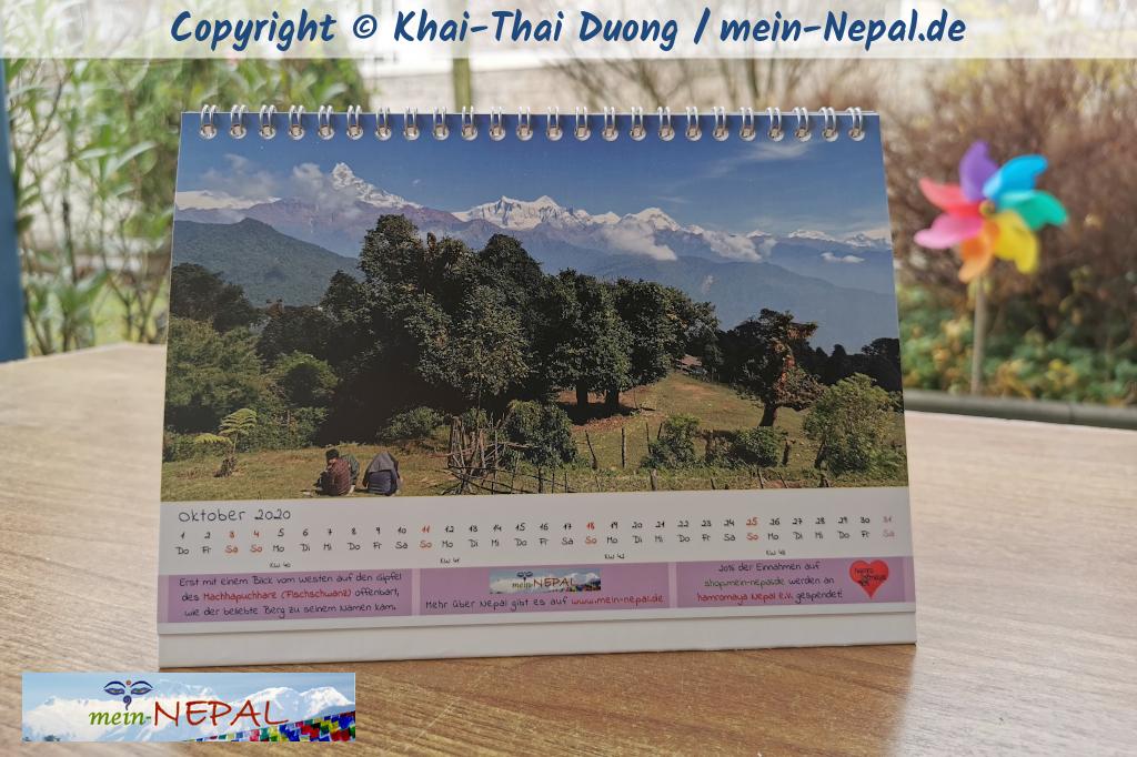 Nepal 2020 Kalender