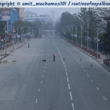 COVID-19 – Kathmandu wie ausgestorben