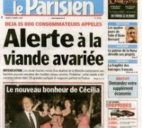 Le Parisien cover