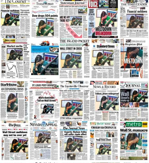 newspaper covers
