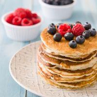 Gluten Free Berries Pancakes