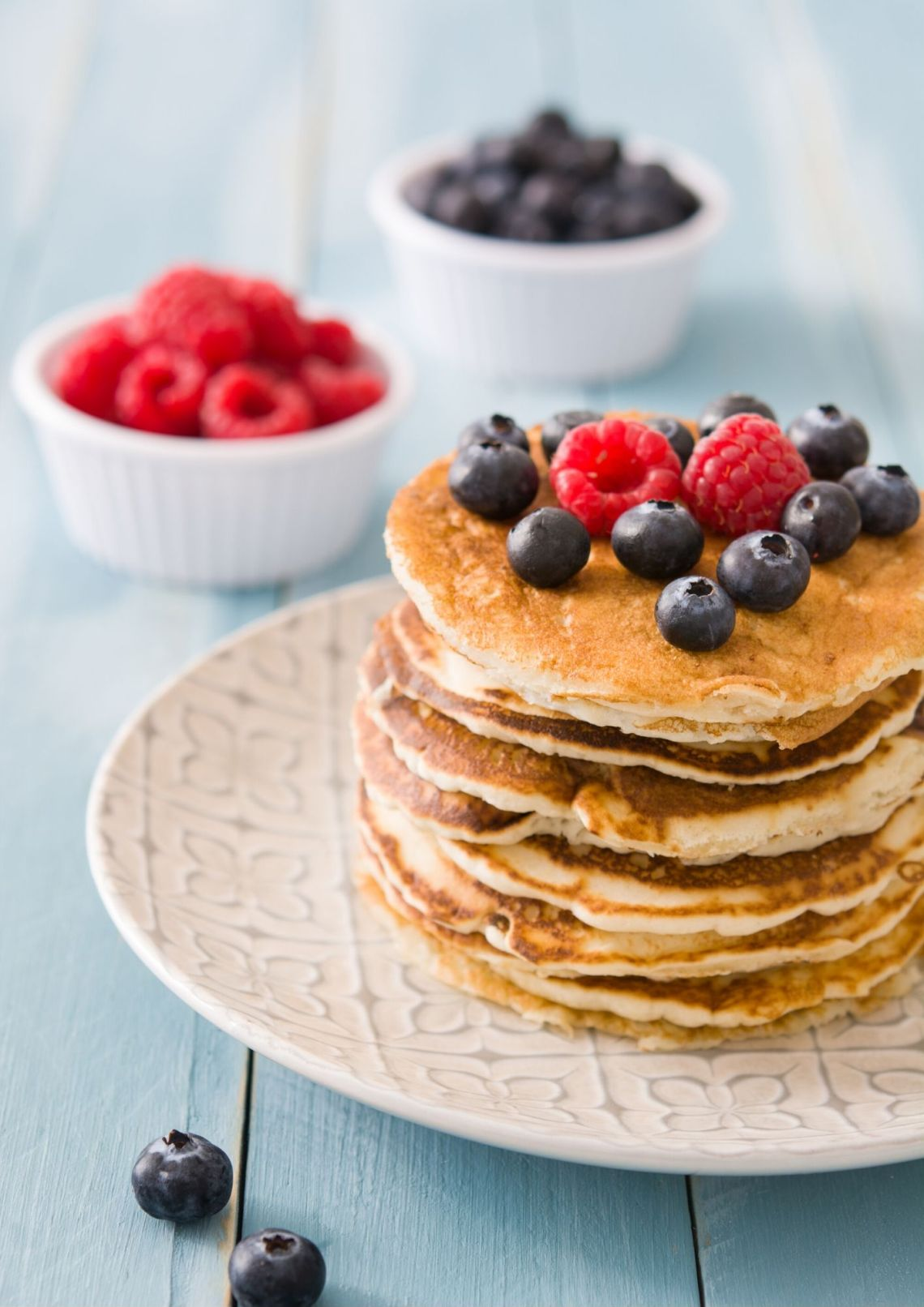 glutenfree berries pancake