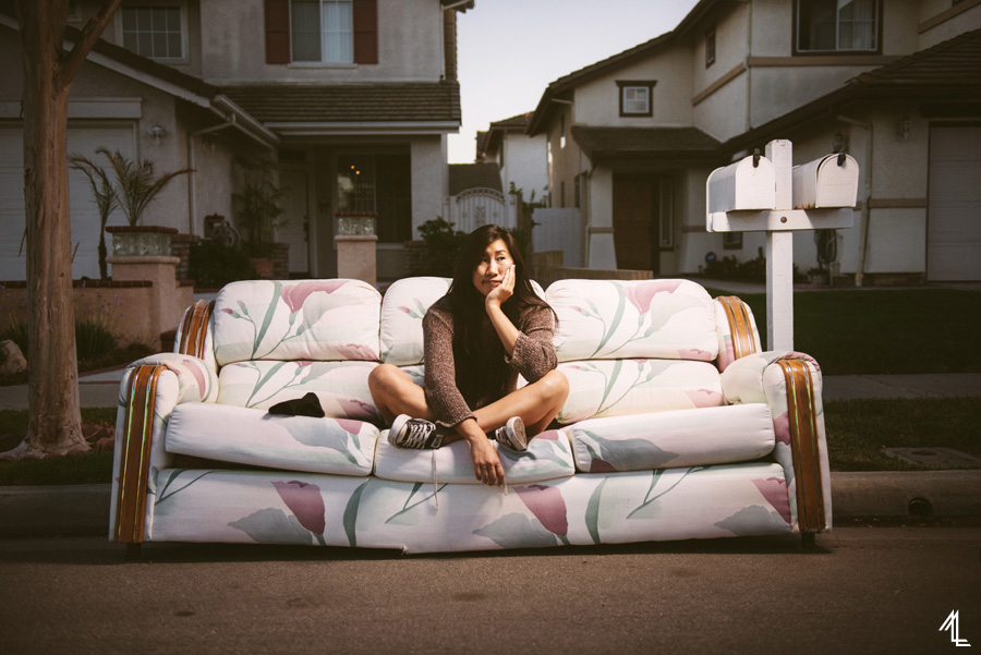 MellyLee-SelfPortrait-Couch2