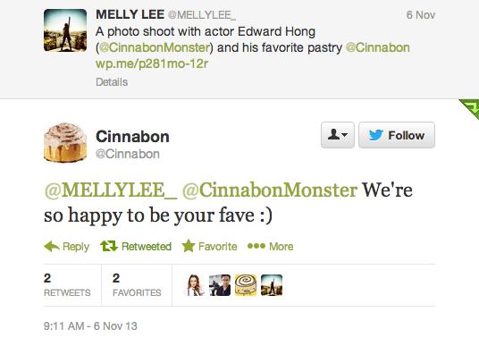 MellyLee-Cinnabon