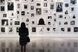 Melly at the Gagosian by Melly Lee (mellylee.com)